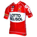 Vermarc Lotto Belisol Pro Short Sleeve Team Jersey