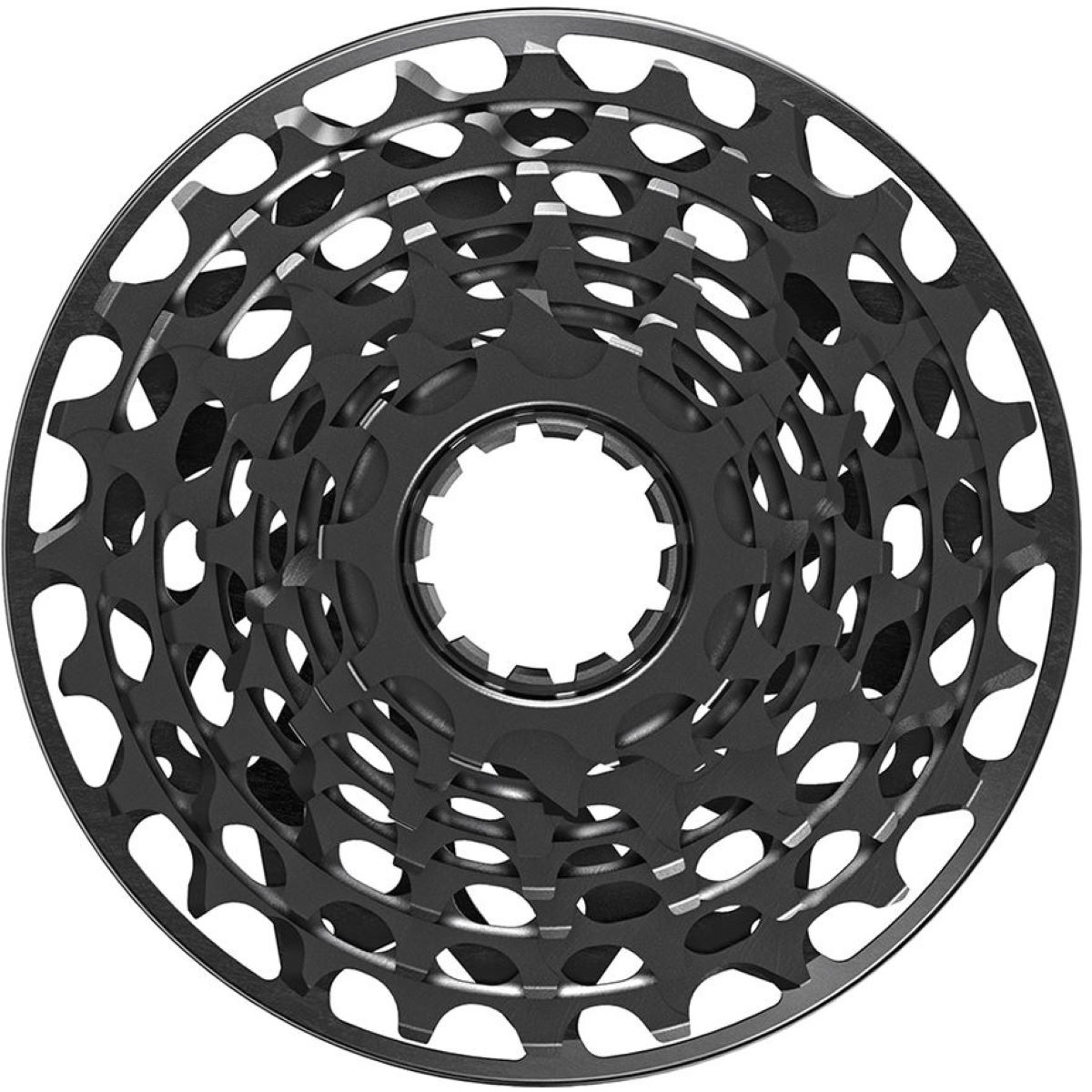 Cassette SRAM X01DH XG-795 7 vitesses - 7 Speed 10-24 Jet Black