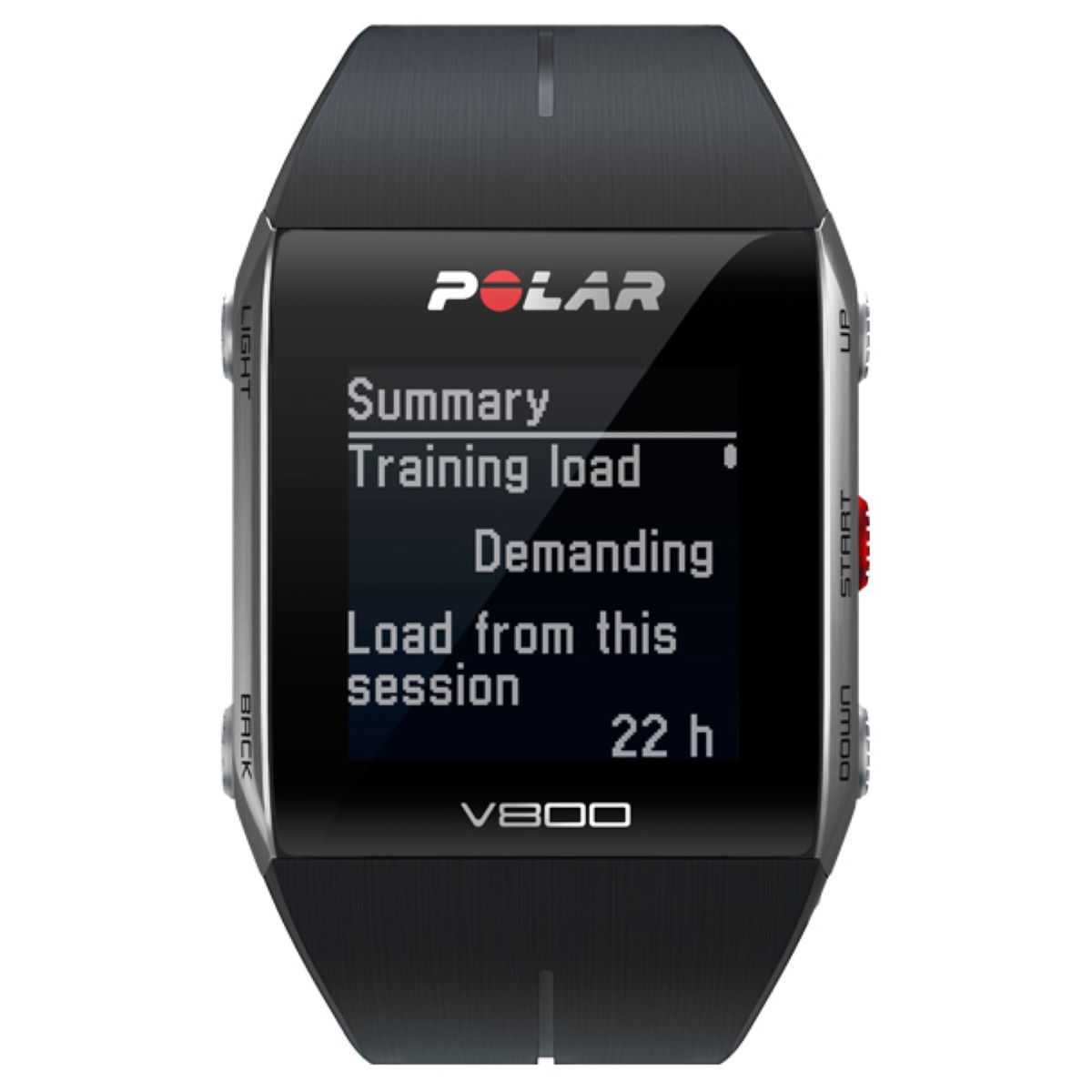 Montre Polar V800 - Noir Compteurs GPS de running