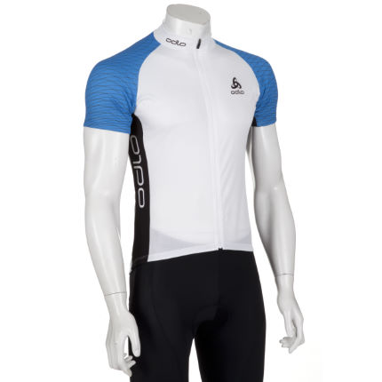 Odlo Telegraphe Short Sleeve Full Zip Jersey