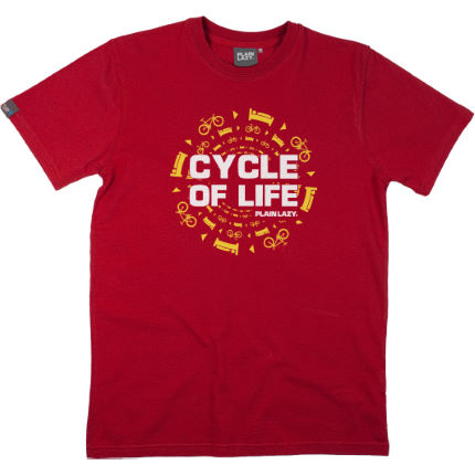 Plain Lazy Cycle Of Life Re-Edit T-Shirt