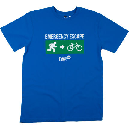 Plain Lazy Escape Bike T-Shirt