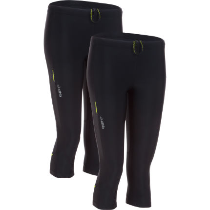 dhb Women's Letho 3/4 Run Tight - Pack of 2