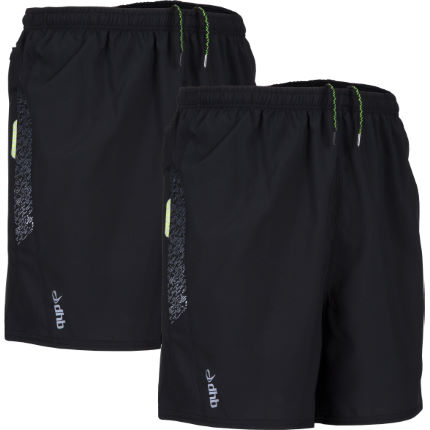 "dhb Zelos 5"" Run Short - Pack of 2"