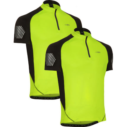 dhb Flashlight Short Sleeve Jersey - Pack of 2