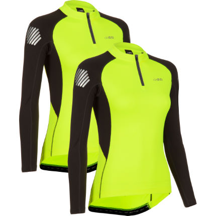 dhb Women's Flashlight Long Sleeve Jersey - Pack of 2