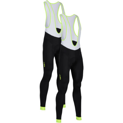 dhb Blok Fluoro Cycle Bib Tight - Pack of 2
