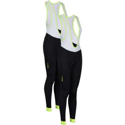 dhb Women's Blok Fluoro Cycle Bib Tight- Pack of 2