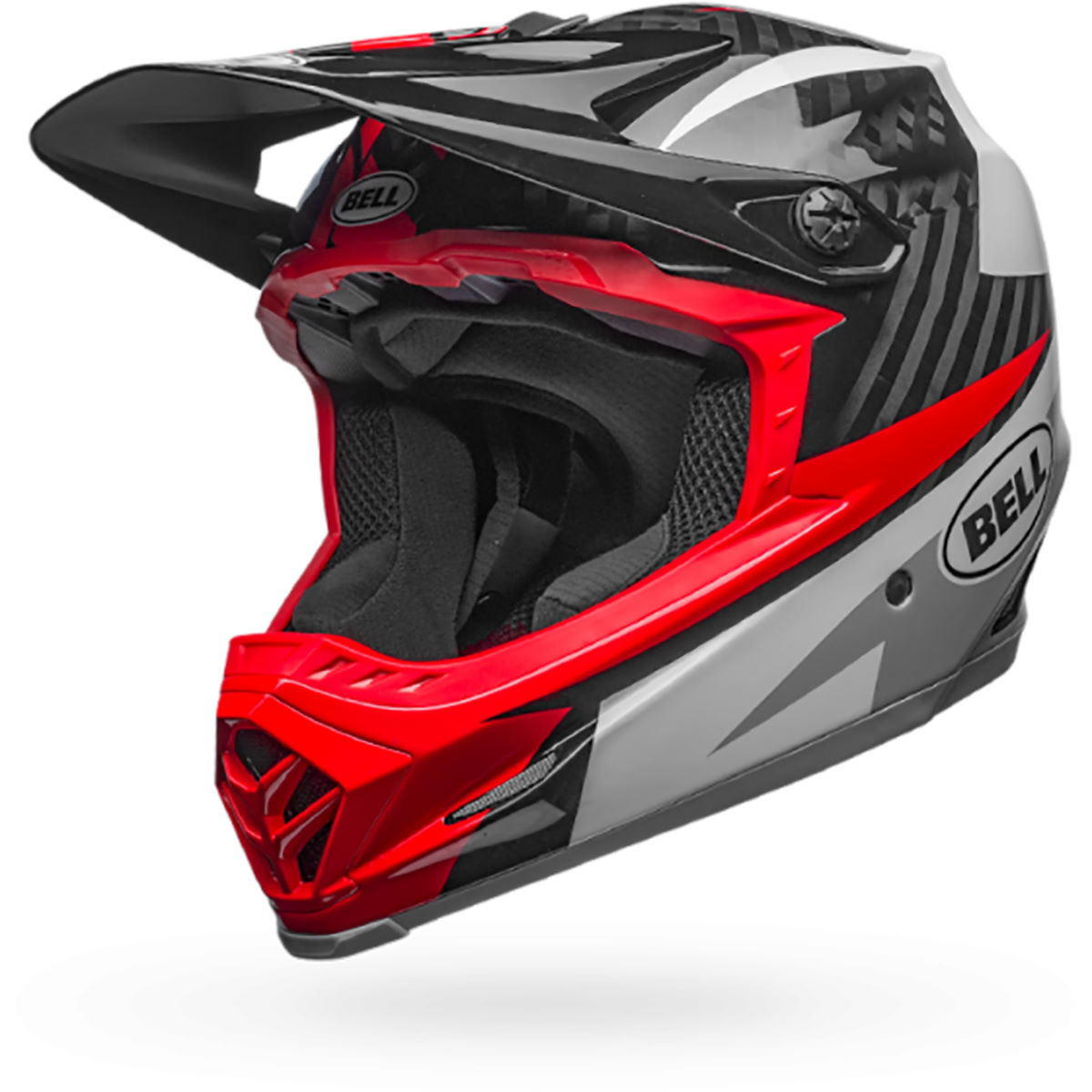 Casque VTT Bell Full-9 - XL/XXL Gloss White/Black/Hi Casques