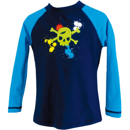 Zoggs Boys Skullduggery Long Sleeve Top AW14