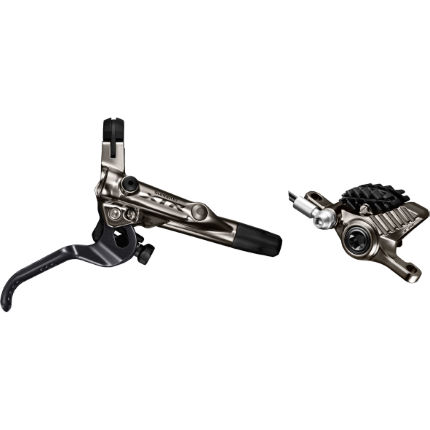 Shimano XTR M9020 Trail Lever and PM Caliper Bled