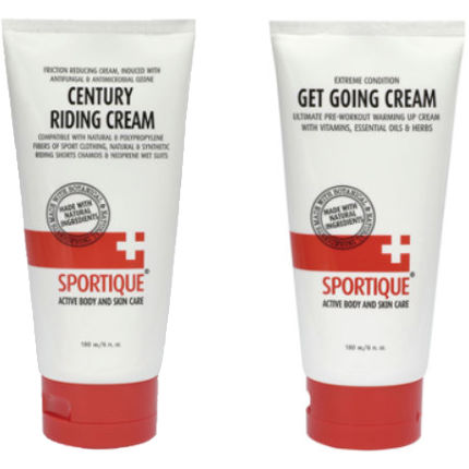 Sportique Century Riding and Get-Going Cream Bundle - 100ml