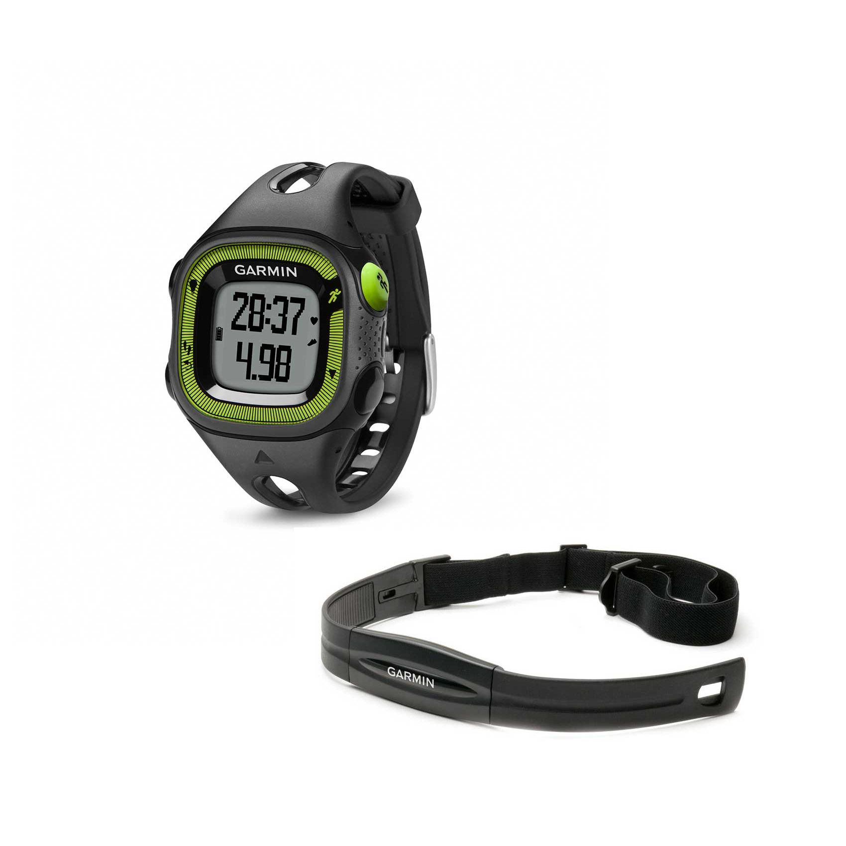 compteurs gps de running garmin forerunner 15 gps watch with hrm wiggle france. Black Bedroom Furniture Sets. Home Design Ideas