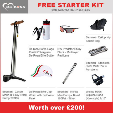 De Rosa Idol 105 2014 Plus Free Starter Kit