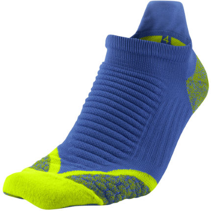 Nike Elite Running Cushion No Show Tab Socks - FA14