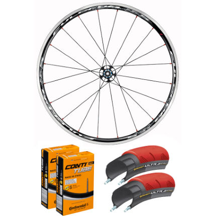 Fulcrum Racing 5 Clincher Wheelset, Tyres and Tube Bundle