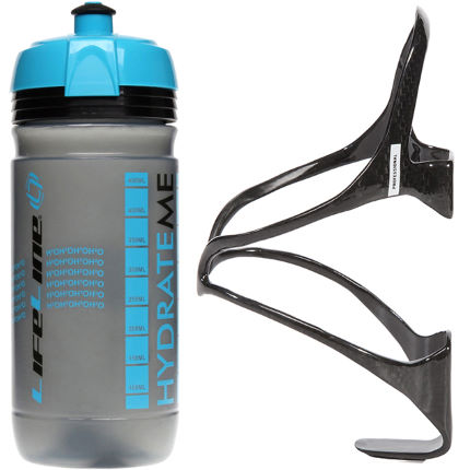LifeLine Professional Carbon Bottle Cage + Corsa Bottle