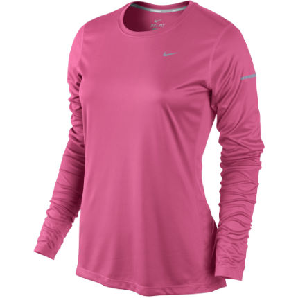 Nike Women's Miler Long Sleeve Top - FA14