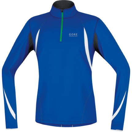 Gore Running Wear AIR Long Sleeve Zip Shirt - AW14