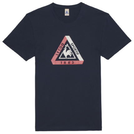 Le Coq Sportif Graphic Brequin Short Sleeve T-Shirt