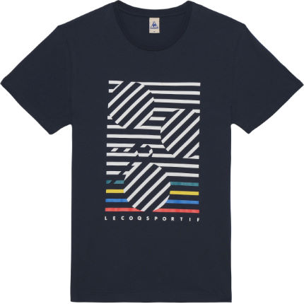Le Coq Sportif Graphic No4 Bicycle Short Sleeve T-Shirt