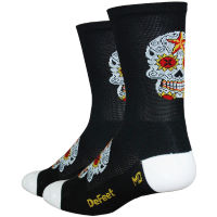 Calcetines DeFeet Aireator Tall Sugarskull