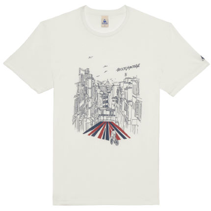 Le Coq Sportif Graphic Chavannais Short Sleeve T-Shirt