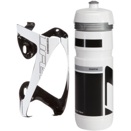 LifeLine Performance 3K Carbon Bottle Cage+ 750ml Bottle