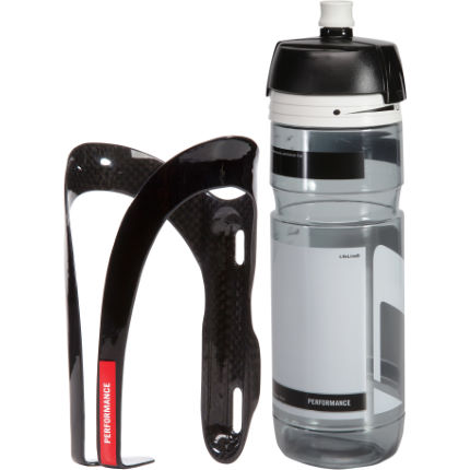 LifeLine Performance Carbon Cage + 750ml Hygiene Bottle