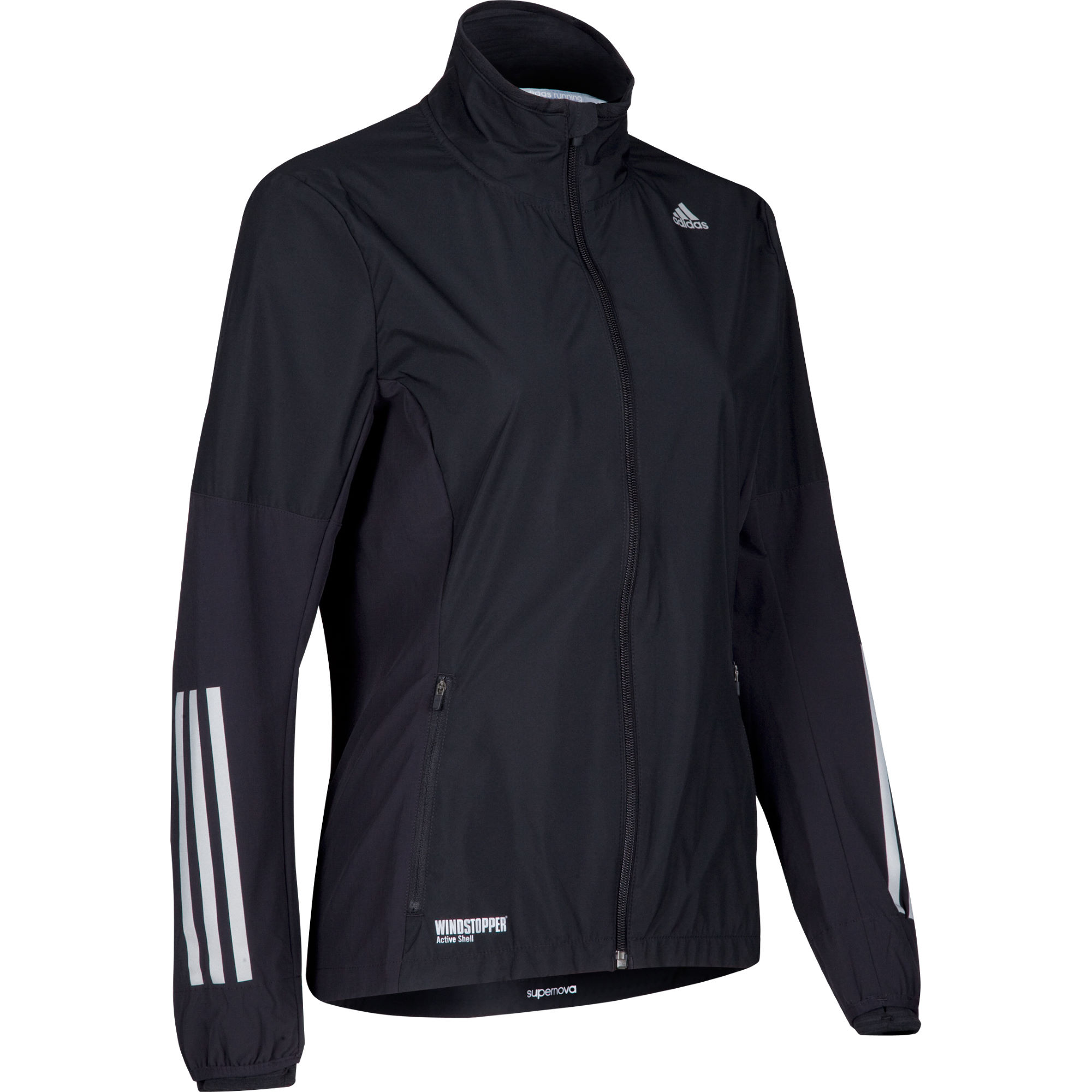 Vestes de running coupe-vent | Adidas | Women's Supernova Gore Windstopper Jacket - AW14 ...
