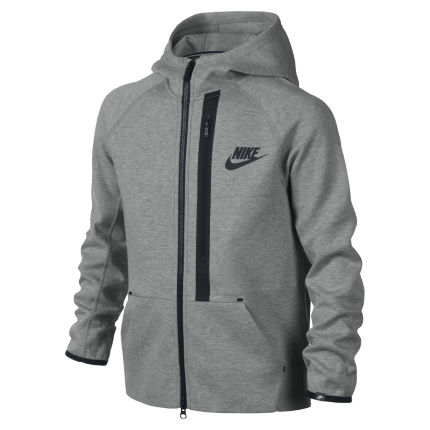 Nike Girl's YA76 Tech Fleece Hoody - FA14