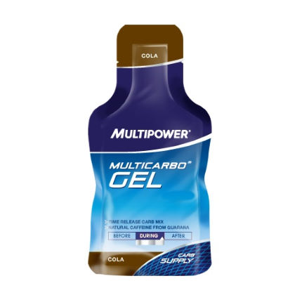 Multipower MultiCarbo Energy Gel - 24x40g - Buy 1 Get 1 Free