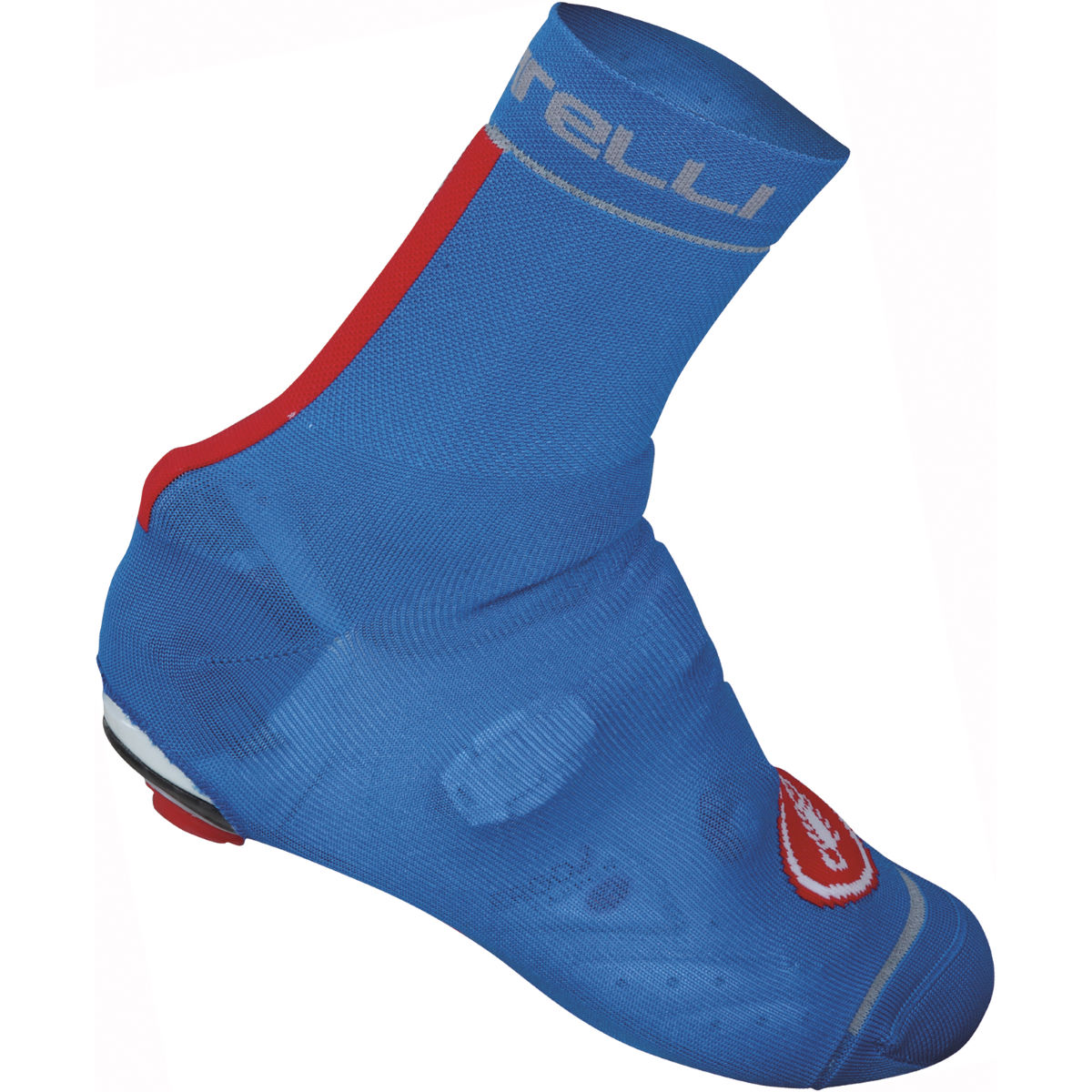 Couvre-chaussures Castelli Belgian 4 - S/M Blue/Red