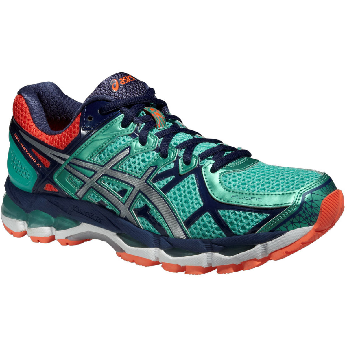 asics womens gel kayano 22 shoes coral stability running shoes