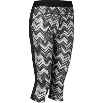 Adidas Women's Techfit Printed Capri Tights - AW14