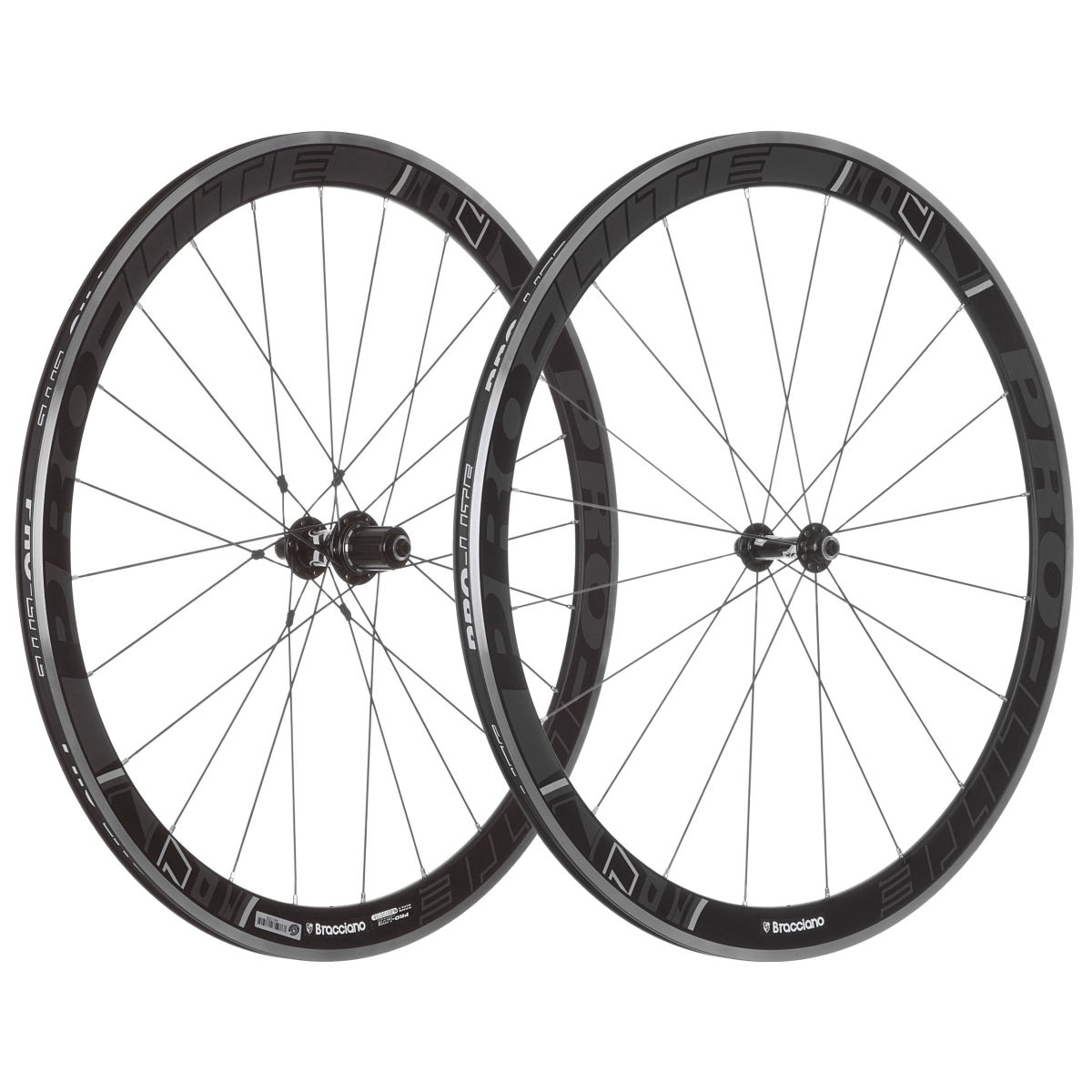 Pro Lite Bracciano A42 SE Alloy Clincher Wheelset   Performance Wheels