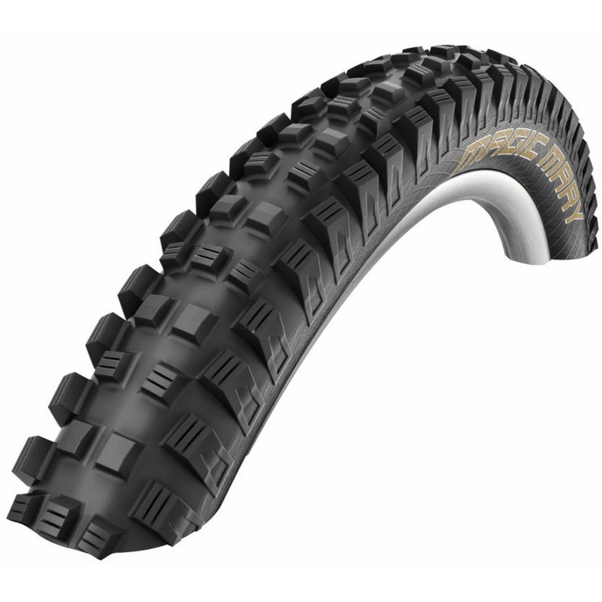 Pneu pliable VTT Schwalbe Magic Mary Snakeskin TL Easy - 26 x 2.35 Noir Pneus VTT