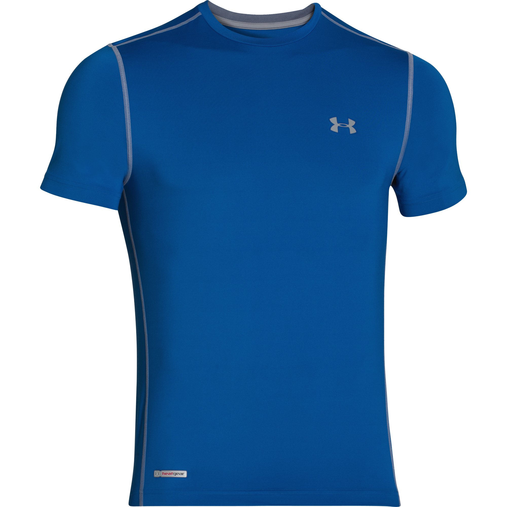 Maillots de running manches courtes under armour for Under armour fitted t shirt