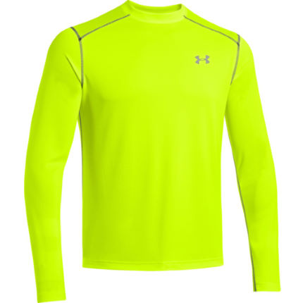 Wiggle under armour promise land longsleeve tee aw14 for Yellow under armour long sleeve shirt
