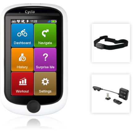 Mio Cyclo 315 HC UK and IRE inc HRM and Cadence sensor