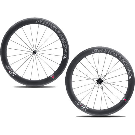 Profile Design 58/TwentyFour Full Carbon Clincher Wheelset