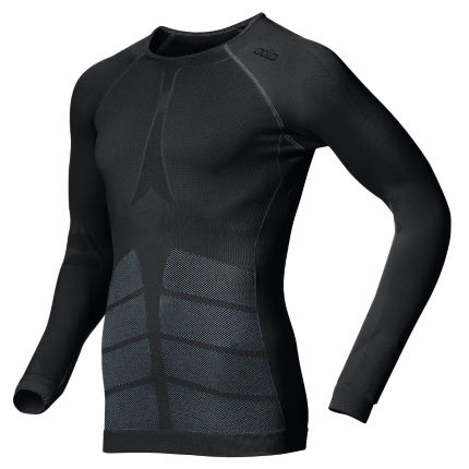 Odlo Evolution Warm Crew Neck LS Base Layer