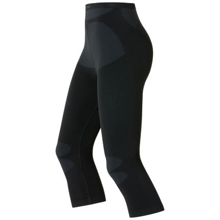 Odlo Women's Muscle Force 3/4 Base Layer Pants