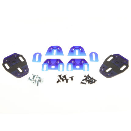 Speedplay - V.2 Snap Shim Basisplatten Kit