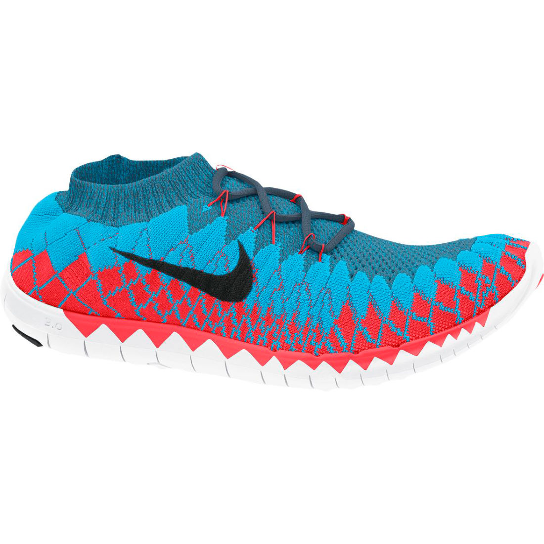 Womens Unique Taste Replica Light Red White Running Shoes Nike Free 3 0 V6 Sport Shoes Uk