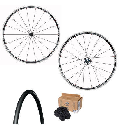Fulcrum Racing 7 Wheelset Tyres and Tubes Bundle