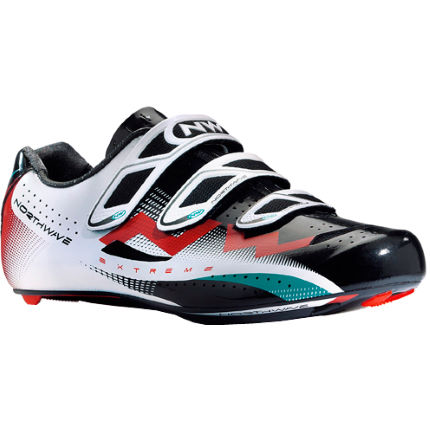 Chaussures Northwave Extreme Tech 3S Route Noires / Blanches / Rouges