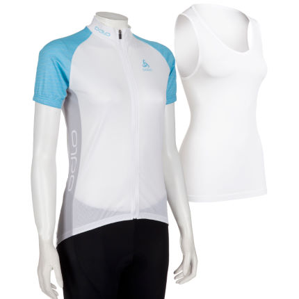Odlo Women's Short Sleeve Jersey and Base Layer