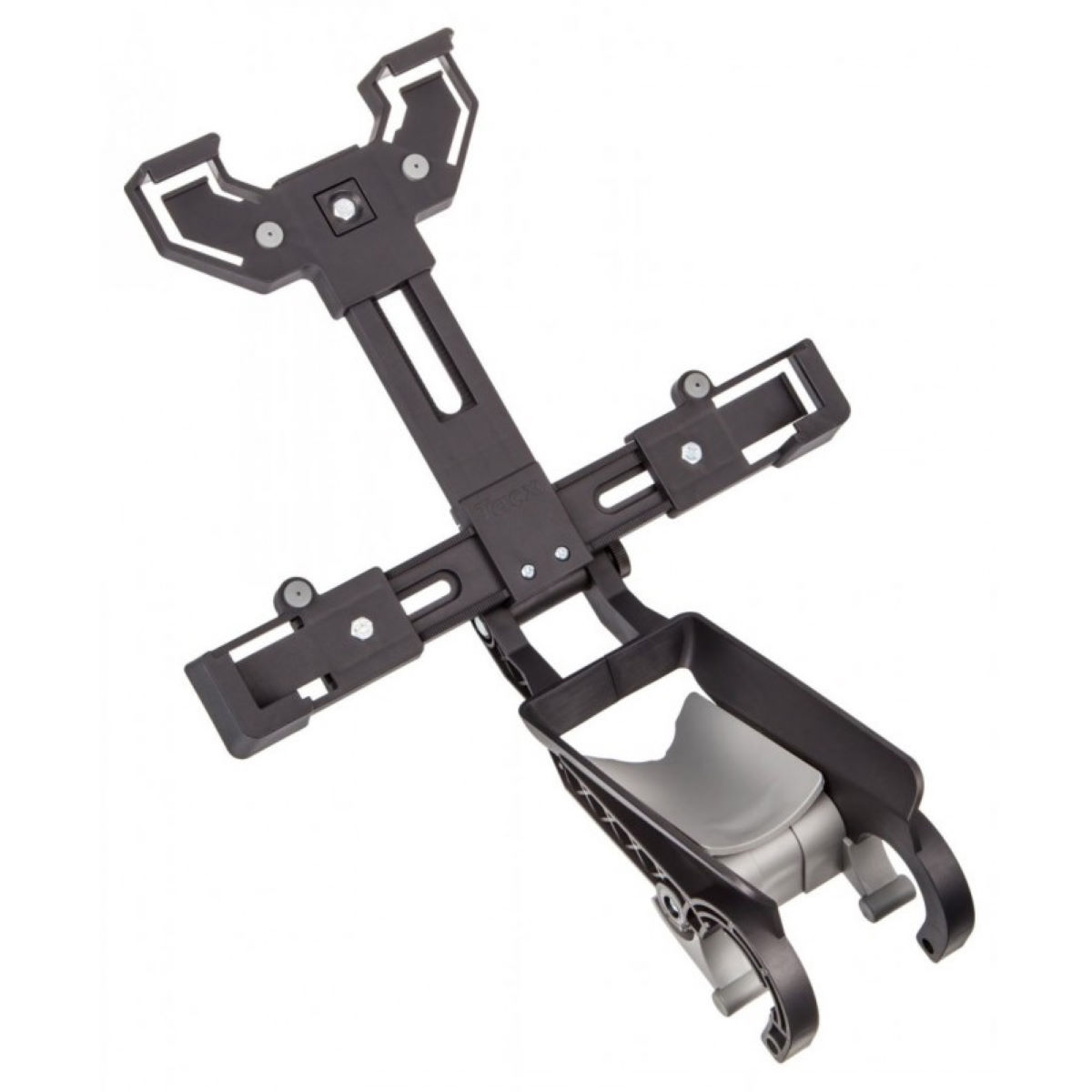 Support de fixation Tacx (pour tablettes) - Option 1 Noir