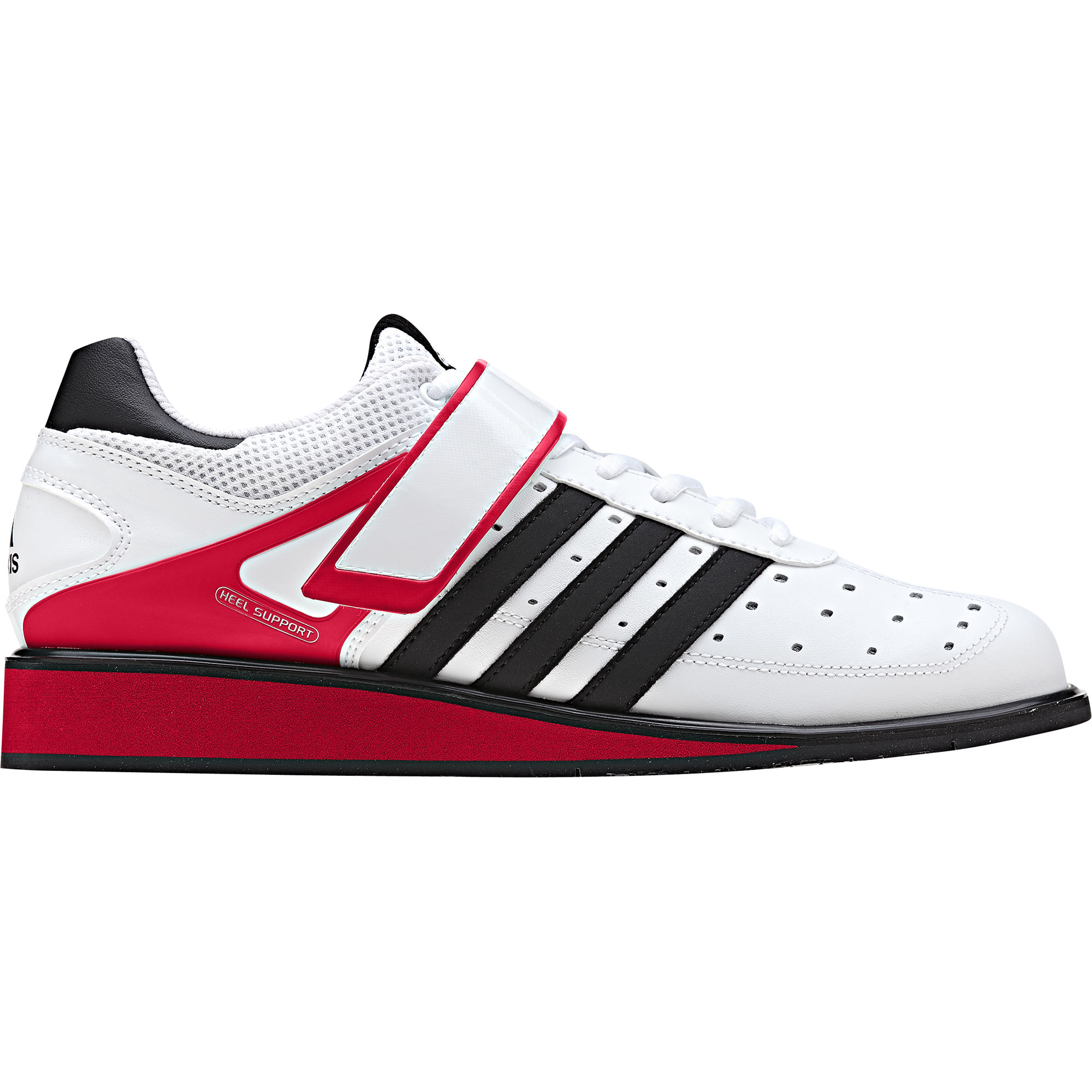 Black And White Adidas Red Shoes